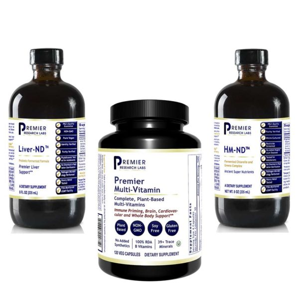 Detox bundle with multivitamin